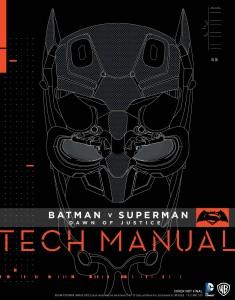 Artbook Tech Manual de Batman vs Superman: El Amanecer de la Justicia