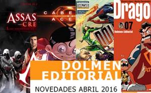 Novedades Dolmen Editorial Abril 2016