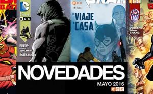 Novedades de ECC Ediciones para Mayo de 2016