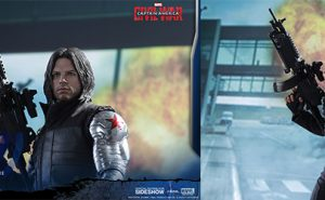 El Soldado de Invierno, de Capitán América Civil War