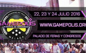 Gamepolis 2016, 3er Festival de Videojuegos de Málaga