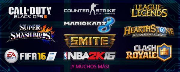 Numerosos torneos en Gamepolis 2016