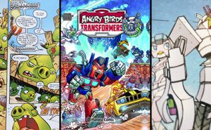 Angry Birds Transformers, de Planeta Cómic