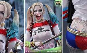 Figura de Harley Quinn por Hot Toys