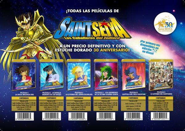 Películas de Saint Seiya