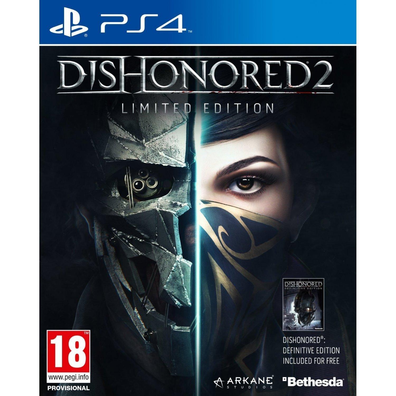 Dishonored 2 Caratula