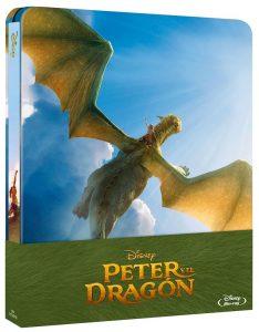 Peter y el Dragón Steelbook