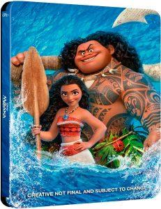Vaiana Edición Metálica en Blu-ray