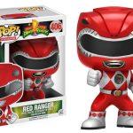 Funko Pop Television del Power Ranger Rojo