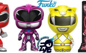 Power Rangers Tamashii Buddies y Funko