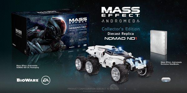 Collector's Edition de Mass Effect: Andromeda