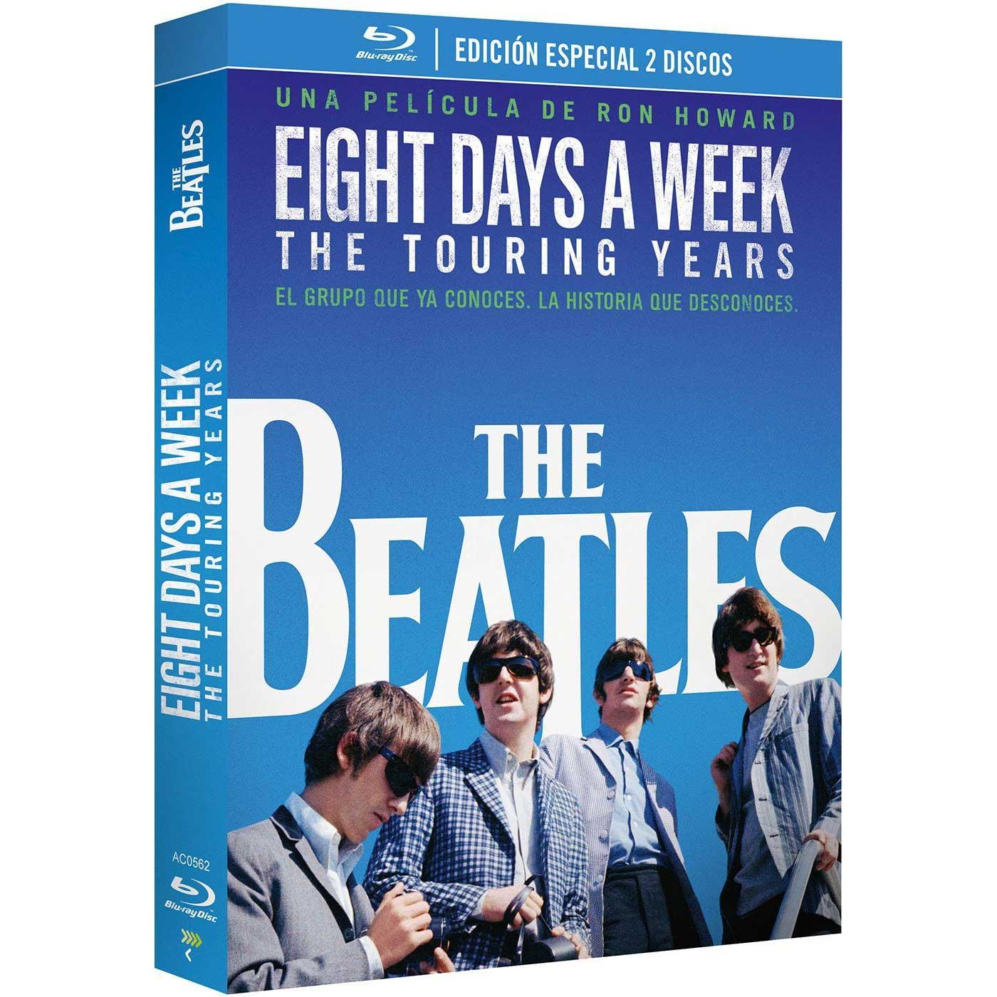 Edición Especial de The Beatles: Eight Days a Week. The Touring Years