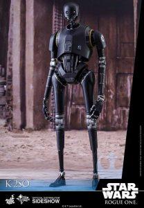 Figura de K-2SO Rogue One realizada por Hot Toys