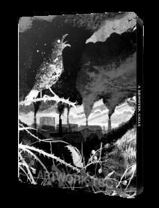 Contraportada del Steelbook de Un Monstruo Viene a Verme