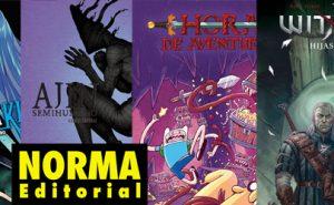 Novedades de Norma Editorial en Marzo