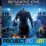Steelbook de Resident Evil: Apocalypse, Project Pop Art