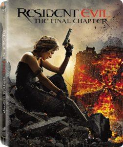 Resident Evil: Final Chapter Steelbook