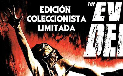 Edición Coleccionista Limitada de Evil Dead en Blu-Ray