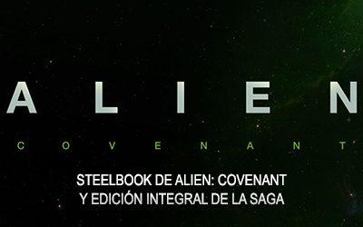 Steelbook de Alien: Covenant y Edición Coleccionista de la saga Alien