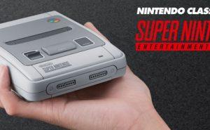 Nintendo Classic Mini SNES Cabecera