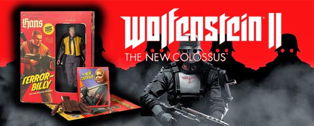 Edición de coleccionista de Wolfenstein II: The New Colossus
