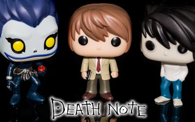 Unboxing de las figuras Funko de Death Note