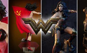 Figuras Wonder Woman Sideshow PRemium Format