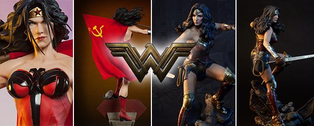 Figuras Premium Format de Wonder Woman por Sideshow Collectibles