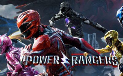 Steelbook de la película Power Rangers exclusiva de Zavvi