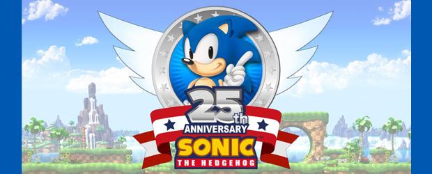Sonic The Hedgehog 25th Aniversario Artbook