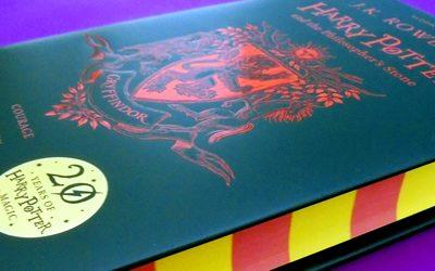 Unboxing 20 Aniversario de Harry Potter y La Piedra Filosofal (Gryffindor)